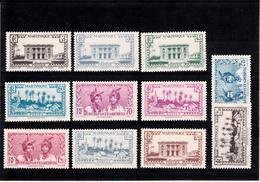 MARTINIQUE 1939 N° 175 A 185  NEUFS XX - Ungebraucht