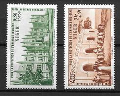 1942 France Niger / Protection Enfance Indigène / YT PA6 PA7 / MNH* - Neufs