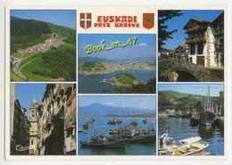 {38734} Espagne Euskadi Pays Basque , Multivues ; Col D' Ibardin , San Sebastian , Guetaria , Pamplona - Spanien