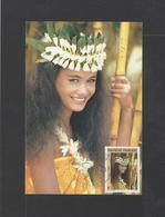 POLYNESIE.  YT  Cartes-maximum    N° 371  1990 - Cartes-maximum