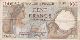 100 Francs 1939 RR - 1871-1952 Antiguos Francos Circulantes En El XX Siglo