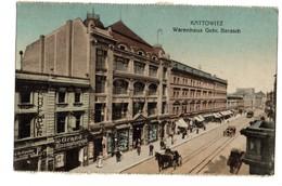 KATTOWITZ Warenhaus Gebr. Barasch - Pologne