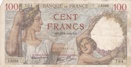 100 Francs 1940 RB - 1871-1952 Antiguos Francos Circulantes En El XX Siglo