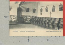 CARTOLINA NV BELGIO - BLANDAIN - Monastere Des Benedictines - Chapelle Provisoire - Stalles - 9 X 14 - Tournai