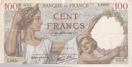 100 Francs 1940 AU - 1871-1952 Antiguos Francos Circulantes En El XX Siglo