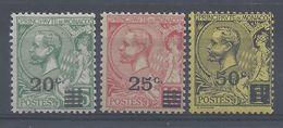 MONACO - 1922 - N° 51/53 - Neufs Traces De Charnières Propres - X -  B/TB - Cote 10.30 € - Monaco