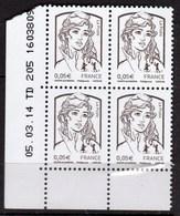 Marianne De Ciappa De 2014, Coin Daté N° 4764 - 2013-... Marianne Di Ciappa-Kawena