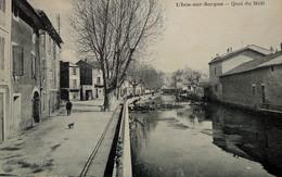 L'Isle-sur-Sorgue - Quai Du Midi - L'Isle Sur Sorgue