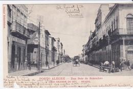 CPA Old Pc Brésil Brasil  Porto Alegre Rua 7 De Setembro - Porto Alegre