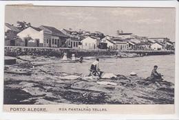 CPA Old Pc Brésil Brasil  Porto Alegre Rua Pantaleao Telles - Porto Alegre