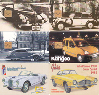 6 Télécartes TCHEQUES Lot4 (bon état) - Tsjechoslowakije