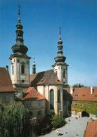 1 AK Tschechien * Die Kirche Im Strahov Kloster Im Prager Stadtteil Hradčany * - Czech Republic