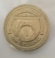 1 Pound 2006 - Arche égyptienne De MacNeill's En Irlande - 1971-… : Monnaies Décimales
