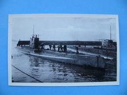 Marine De Guerre Le Sous Marin Paul Chailley - Submarines