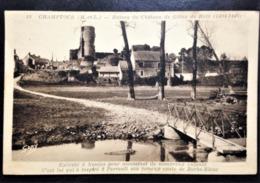 "France, Vintage Circulated Postcard, ""Champtocé"" - Francia"