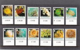 ALDERNEY  2006 FAUNA  MARINA CORALLI ANEMONI   UNIFICATO N. 287/298  MNH - Alderney