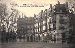 Spa - L'Hôtel Britannique (prix Fixe) - Spa