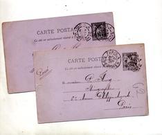 Carte Postale 10 Sage Cachet Paris - Biglietto Postale