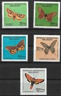 MADAGASCAR 1984 BUTTERFLIES MNH - Schmetterlinge