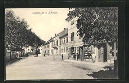 AK Möllbrücke, Ortspartie Mit Geschäft Leopold Thaler - Autriche