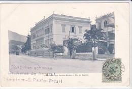CPA Old Pc Brésil Brasil  Rio Inst. Surdos Mudos 1904 Rennes - Rio De Janeiro