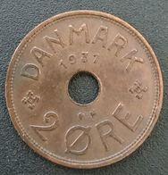 DANEMARK - DENMARK - 2 ORE 1931 - Christian X - KM 827 - Danemark