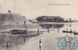 Nièvre - Nevers - Pêcheurs En Loire - Nevers