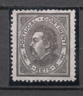 Portugal, 1880/1, # 52 Dent. 12 3/4, MH - 1862-1884 : D.Luiz I