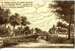 CPA - BRUXELLES - LE PONT DE LAEKEN EN 1793 (DESSIN) - Monuments