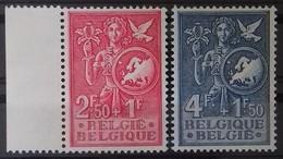 BELGIQUE N°928 à 929 COTE 65 € NEUFS ** MNH BUREAU EUROPEEN DE LA JEUNESSE ET DE L'ENFANCE EN 1953 TB - Ungebraucht