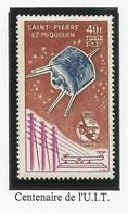 SAINT PIERRE ET MIQUELON SPM PA N° 32 Neuf Sans Charnière ** 1965 - Airmail