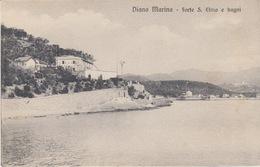 DIANO MARINA (IMPERIA) - FORTE S. ELMO E BAGNI - Imperia