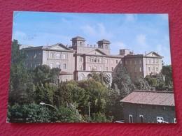 POSTAL POST CARD ITALIA ITALY ROMA ROME COLLEGIO COLEGIO DEL VERBO DIVINO VIA DEI VERBITI CON SELLO WITH STAMP VATICANO - Enseignement, Ecoles Et Universités