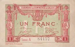 Un Francs, Chambre De Commerce De Calais 84157 - Chamber Of Commerce