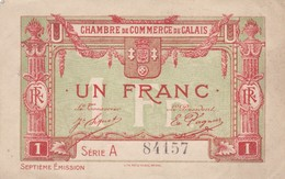 Un Francs, Chambre De Commerce De Calais 84157 - Chambre De Commerce
