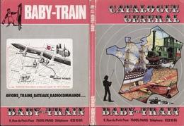 Catalogue BABY TRAIN 1977/78 Avions Trains Bateaus Radiocommande Etc. - Livres Et Magazines