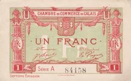 Un Francs, Chambre De Commerce De Calais 84158 - Chambre De Commerce