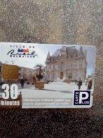 FRANCE CARTE STATIONNEMENT CARTE A PUCE CHIP CARD RUEIL MALMAISON 30 MIN OFFERTES NEUVE MINT - PIAF Parking Cards