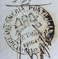 GENDARMERIA PONTIFICIA LEG.UMBRIA BRIGATA CASTIGLION DEL LAGO 30/7/60 - BUONO ALLOGGIO PER  MILITARI - Historical Documents
