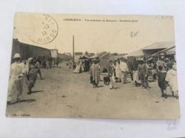 CPA MAROC - CASABLANCA - Vue Extérieure De Remparts - Boucherie Juive - Casablanca