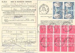 FRANCE - CARTE ORDRE DE REEXPEDITION TEMPORAIRE - MORIZES GIRONDE 22.12.1978  - MARIANNE DE BEQUET  / 2 - Postmark Collection (Covers)