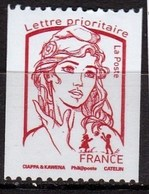 Marianne De Ciappa De 2013, Lettre Prioritaire 20g  Rouge N° 4779 N° 303 Noir à Droite Au Verso - 2013-... Marianne De Ciappa-Kawena