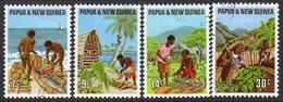 Papua New Guinea 1971 Primary Industries Set Of 4, Used, SG 204/7 (C) - Papoea-Nieuw-Guinea
