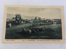 CPA MAROC - CASABLANCA - 66 D - La Place De France En 1888 (coté Nord) - Casablanca