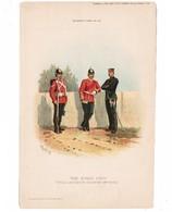 "GREAT BRITAIN The Kings Own Royal Lancaster Regiment---""R.Simkin"" ORIGINAL PRINT 1891 ""Army & Navy Gazette"" #46 (PR-1) - Prints & Engravings"