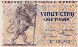 25 Centimes, Chambre De Commerce D'Arras 156843 - Chambre De Commerce