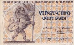 25 Centimes, Chambre De Commerce D'Arras 156842 - Chamber Of Commerce