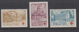 Finland 1932 - Michel 173-175 MNH **, Ref 11 - Finnland