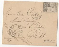 LETTRE DE 1902 DIEGO SUAREZ POUR PARIS - Brieven En Documenten