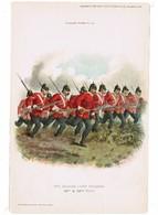 "GREAT BRITAIN The Durham Light Infantry---""R.Simkin"" ORIGINAL PRINT 1895 ""Army & Navy Gazette"" #95 (PR-2) - Prints & Engravings"